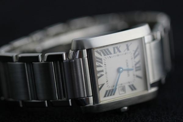 Restauración reloj Cartier Tank