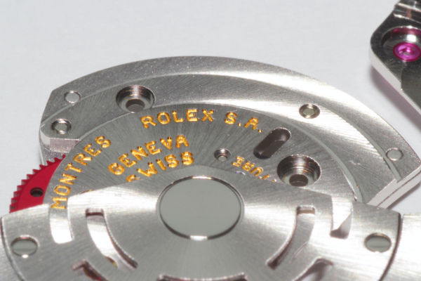Calibre Rolex 3135